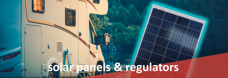 SOLAR PANELS & REGULATORS