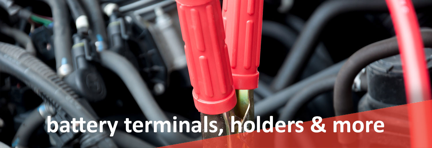 BATTERY TERMINALS LUGS NUTS HOLDERS