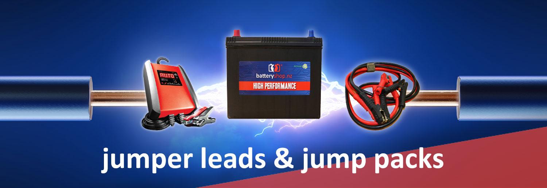 JUMPER LEADS & JUMP PACKS
